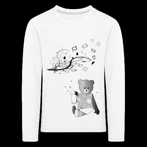 Kinder Shirt Teddybär - Kinder Premium Langarmshirt