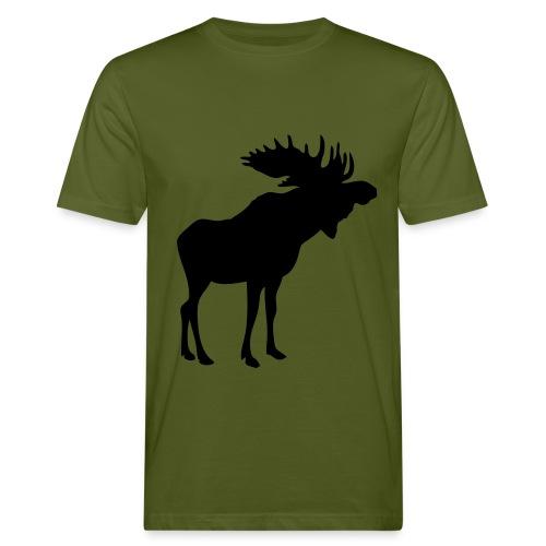 T-shirt med älg - Ekologisk T-shirt herr