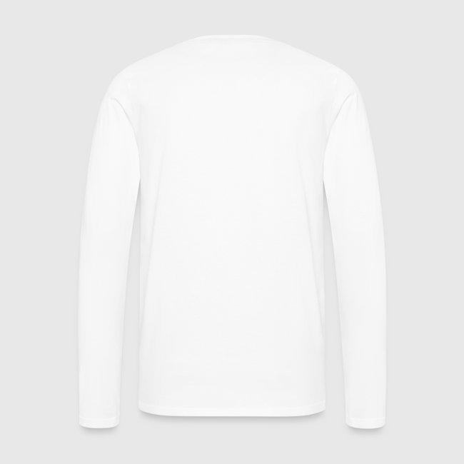 Open heart langærmet Tshirt
