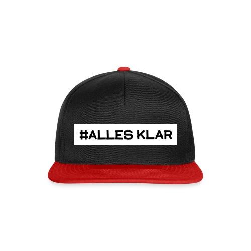 #ALLESKLAR Crew Snapback - Snapback Cap