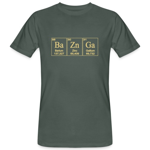 BaZinGa  - Bioshirt - Männer Bio-T-Shirt