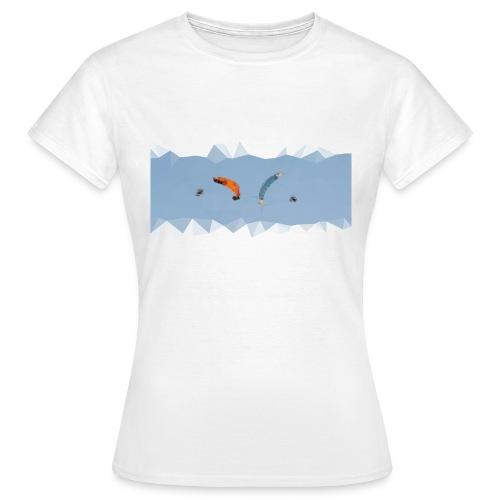Synchro Spirale Polygone T-shirt Femme - T-shirt Femme