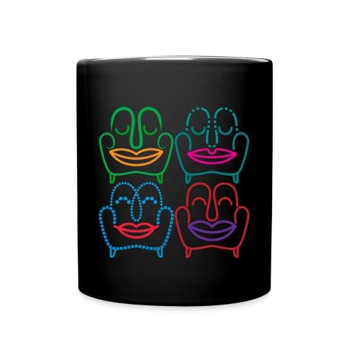 Chairs n´ Faces-Tasse - Tasse einfarbig