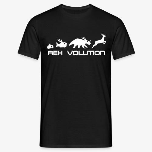 REH Volution (Black) - Männer T-Shirt