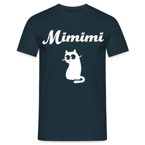 Mimimi Katze - Männer T-Shirt