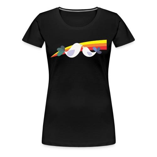 Best cult ever no words womens shirt - Women's Premium T-Shirt