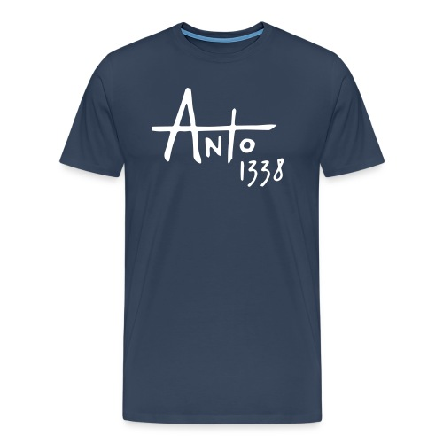 Anto1338 col rond sombre - T-shirt Premium Homme