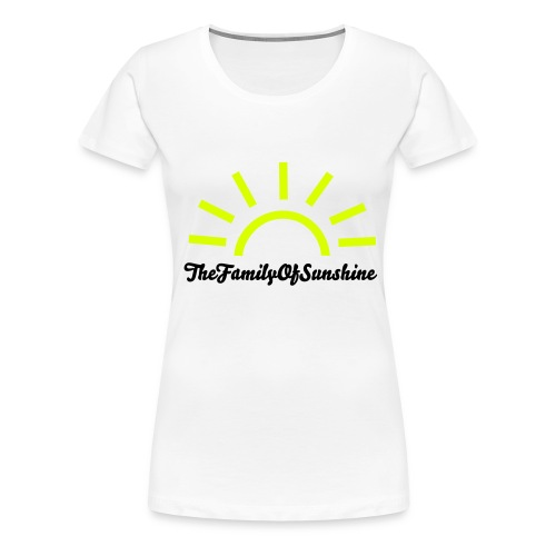 TheFamilyOfSunshine womans - Women's Premium T-Shirt