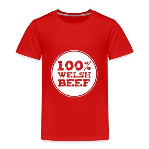 Wales rugby - 100% Welsh Beef - Kids tshirts - Kids' Premium T-Shirt