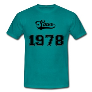 Since 1978 - T-shirt Homme