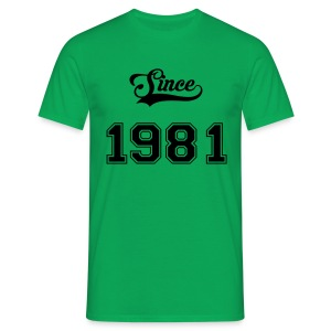 Since 1981 - T-shirt Homme