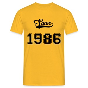Since 1986 - T-shirt Homme
