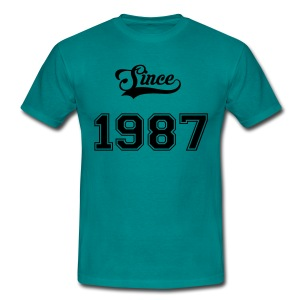Since 1987 - T-shirt Homme