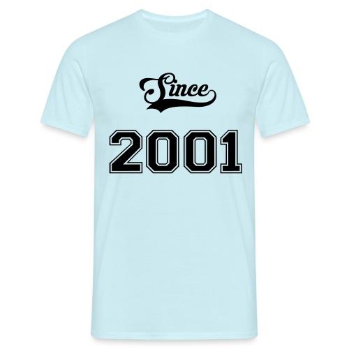 Since 2001 - T-shirt Homme