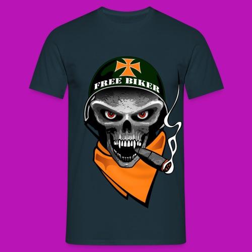 free biker - Männer T-Shirt
