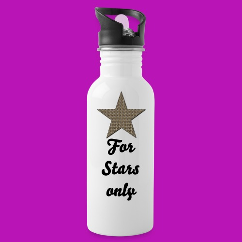 only for stars - Trinkflasche