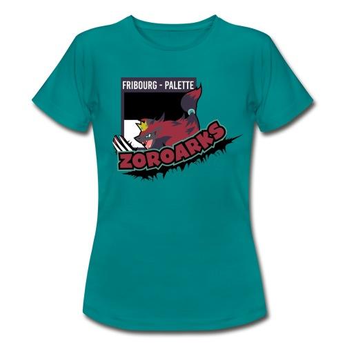 Fribourg-Palette Zoroarks + #TeamZanx (Femme) - T-shirt Femme