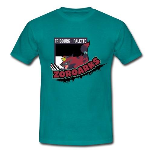 Fribourg-Palette Zoroarks + #TeamZanx (Homme) - T-shirt Homme
