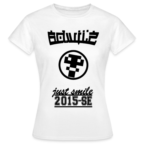 BDWilZ Meisjes T-Shirt - Wit (2015-SE) - Vrouwen T-shirt