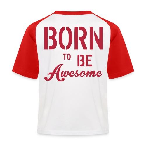 T-shirt - Barn - Baseboll-T-shirt barn