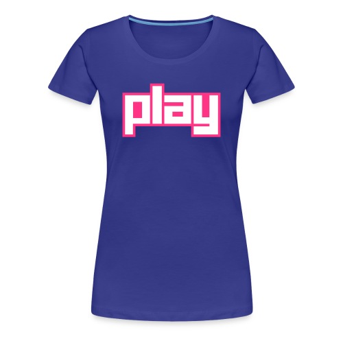 Play - Frauen Premium T-Shirt