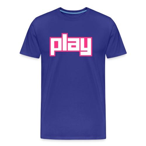 Play - Männer Premium T-Shirt