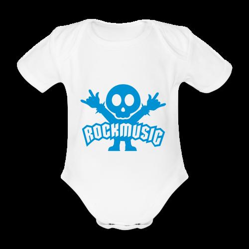 Bébé Metal - Body bébé bio manches courtes