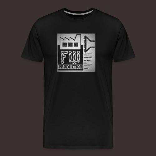 FW Production Label Premium T-shirt (man) - Männer Premium T-Shirt