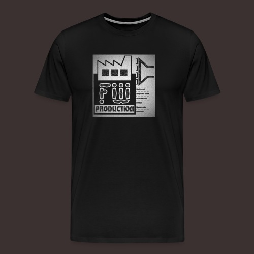 FW Production Label Premium T-shirt (man) - Männer Premium T-Shirt