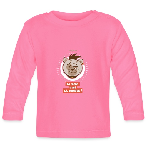 Tee shirt manches longues Bébé mini bear - T-shirt manches longues Bébé