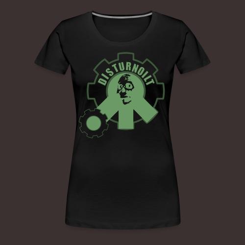 Disturnoilt logo premium t-shirt (woman) - Frauen Premium T-Shirt