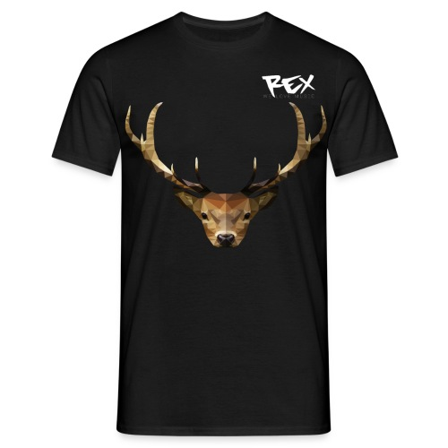 Rex Sounds Stag - Men's T-Shirt