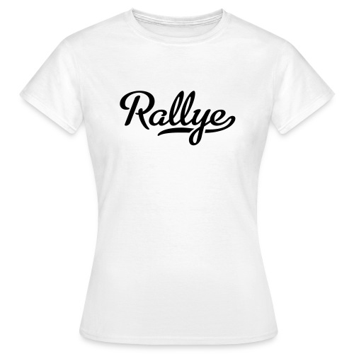 Tee Shirt   Femme   Rallye - T-shirt Femme