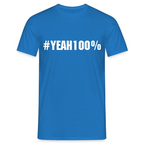 PirateCast #Yeah100% Shirt - Men's T-Shirt