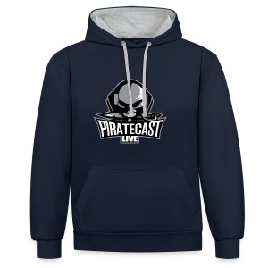 PirateCast Hoodie - Contrast Colour Hoodie