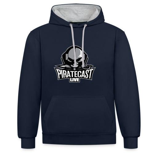 PirateCast Hoodie - Contrast Colour Hoodie