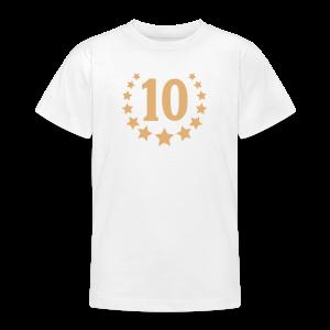 10 ans - T-shirt Ado