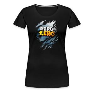 Hero Zero - Female Premium T-Shirt - Women's Premium T-Shirt