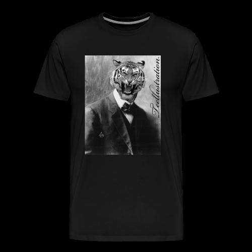 T-shirt Classic Zoo II - Mannen Premium T-shirt