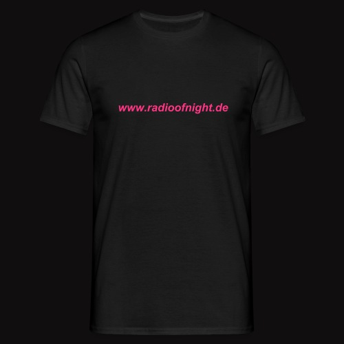 Männer T-Shirt-Radio of Night - Männer T-Shirt