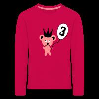 3. Geburtstag Bärchen Langarm-Shirt