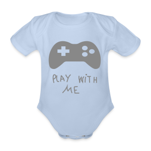 Play with me - Body bébé bio manches courtes