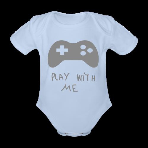 Play with me - Body bébé bio manches courtes