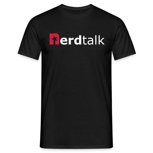Männer T-Shirt - Schriftzug rot/weiß - Männer T-Shirt