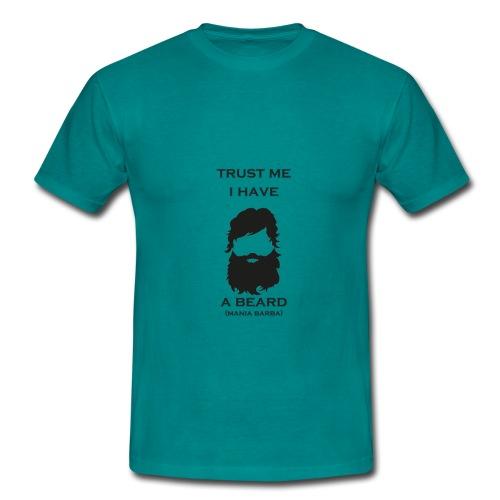 T-Shirt Trust me i have a beard Uomo - Maglietta da uomo