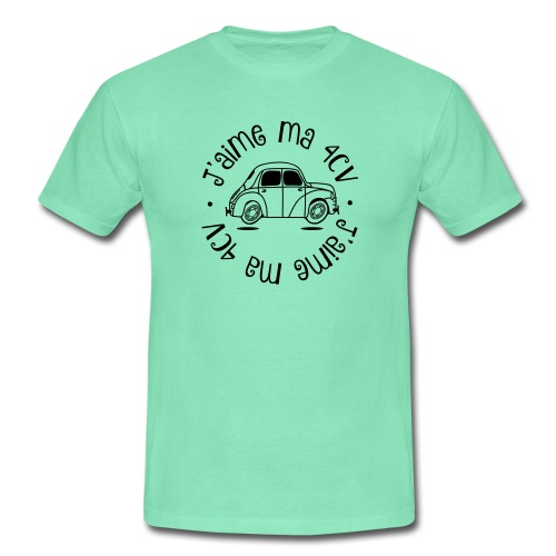 Tshirt J'aime ma 4CV - T-shirt Homme