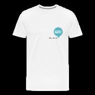 T-paidat ~ Miesten premium t-paita ~ Puhekupla, miestenmalli