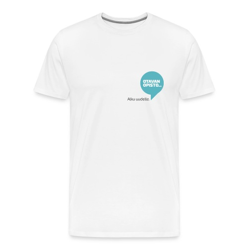 Puhekupla, miestenmalli - Miesten premium t-paita