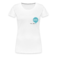T-paidat ~ Naisten premium t-paita ~ Puhekupla, naistenmalli