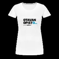 T-paidat ~ Naisten premium t-paita ~ Otavan Opisto logo, naistenmalli
